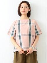 BEAMS BOY / ビッグ タータンチェック バスクシャツ 17春夏 ビームスボーイ プルオーバー