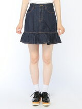 【BROWNY】(L)フリルミニスカート