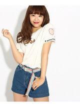 ピンクラテ×キョロちゃん コラボTシャツ