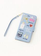 フェミニン刺繍ブック型iPhone7/6/6sケース