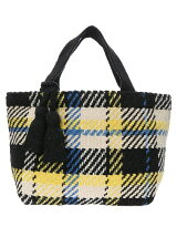 ■LP Check pattern totebag