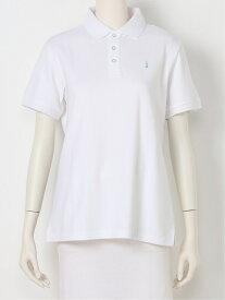 EASTBOY School EASTBOY School/ポロシャツ COOLMAX イーストボーイ カットソー ポロシャツ ホワイト ネイビー【送料無料】