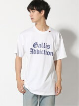 (M)GALLISADDICTION/GAバックフォトシートMEN TEE
