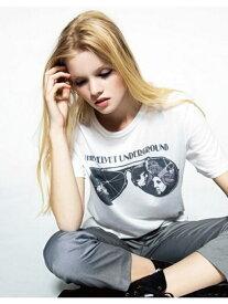 【SALE/77%OFF】NINE×JUNKFOOD NINE×JUNKFOODコラボTシャツ ナイン カットソー Tシャツ ホワイト