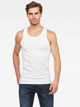 (M)Basic Tanktop 2-Pack White