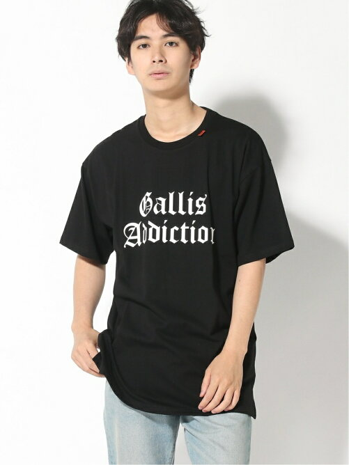 (M)GALLISADDICTION/GAバックフォトシートLADY TEE