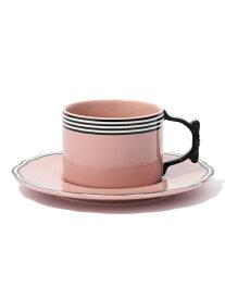 Francfranc リボン カップ&ソーサー フランフラン 生活雑貨 キッチン/ダイニング ピンク