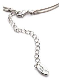 プチパール&バー2連ネックレス