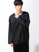 【BROWNY】(M)パネルプルオーバーシャツ