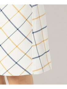 T/Cマットクロスチェック スカート