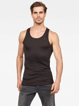 (M)Basic Tanktop 2-Pack Black