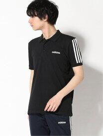 【SALE/50%OFF】adidas Sports Performance 3ストライプス 半袖ポロシャツ [3-Stripes Polo Shirt] アディダス アディダス カットソー ポロシャツ ブラック ネイビー ホワイト
