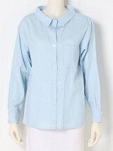 ダンガリー抜き衿シャツ