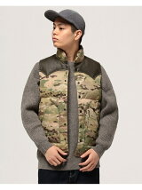 ROCKY MOUNTAIN FEATHERBED × BEAMS / 別注 ダウンベスト CAMO