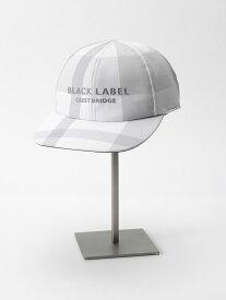 BLACK LABEL CRESTBRIDGE クレストブリッジチェックキャップ ブルーレーベル / ブラックレーベル・クレストブリッジ 帽子/ヘア小物 帽子その他 ホワイト ブラック レッド ネイビー ベージュ【送料無料】