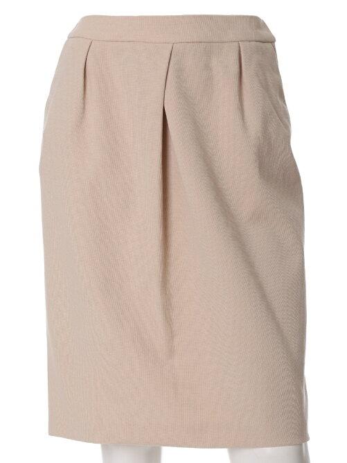 【WEB限定大きいサイズ】パールニットタイトスカート《洗えるセットアップ》