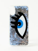 iPhoneケース(iPhoneX対応)-BLUE EYE LIQUID CASE-