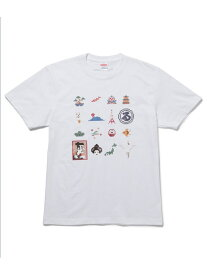 【SALE/60%OFF】Adam et Rope' Le Magasin 【TOKYOPiXEL×LeMagasin】コラボTシャツ アダム エ ロペ ル マガザン カットソー【RBA_S】【RBA_E】