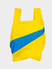 SHIPS SUSAN BIJL: SHOPPING BAG M (エコバッグ) シップス バッグ エコバッグ/サブバッグ イエロー グレー ブラック レッド ブルー
