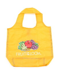 FRUIT OF THE LOOM FRUIT OF THE LOOM/(U)FTL PACKABLE ECO TOTE ST ハンドサイン バッグ エコバッグ/サブバッグ イエロー ブルー パープル ブラック グリーン レッド