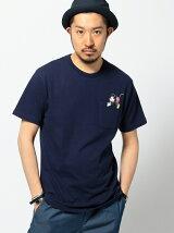 Disney|ビーミング by ビームス / ミッキー ポケット Tシャツ BEAMS