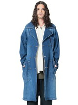 Blues denim coat