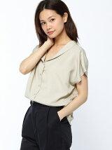 衿デザインシャツ