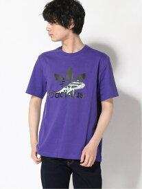 【SALE/60%OFF】adidas Originals (M)TEE LOGO アディダス カットソー Tシャツ パープル ピンク