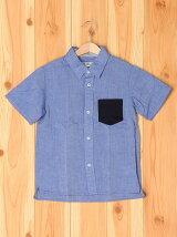 【キッズ】メンアサシャツ半袖