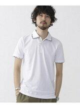 :ダブルカラーポロシャツ