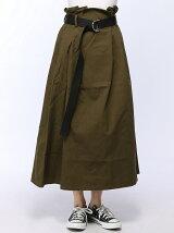 【JUNIOR SWEET】(L)リングベルトロングスカート