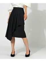 ドレープラップ風スカート