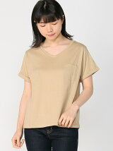 emsexcite/Vネック ゆる TEE