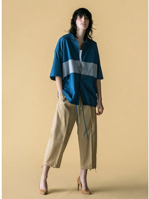 <monkey time> CHINO WIDE ANKLE PANTS/アンクルパンツ