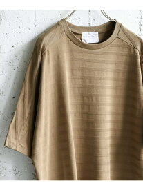 【SALE/50%OFF】シャドーボーダーTシャツ アーバンリサーチドアーズ カットソー【RBA_S】【RBA_E】