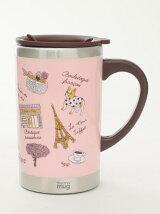 パリ柄スリムマグカップ