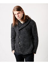 *SEMI DOUBLE SHAWL CARDIGAN