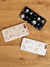 フラワー柄iphone6ケース