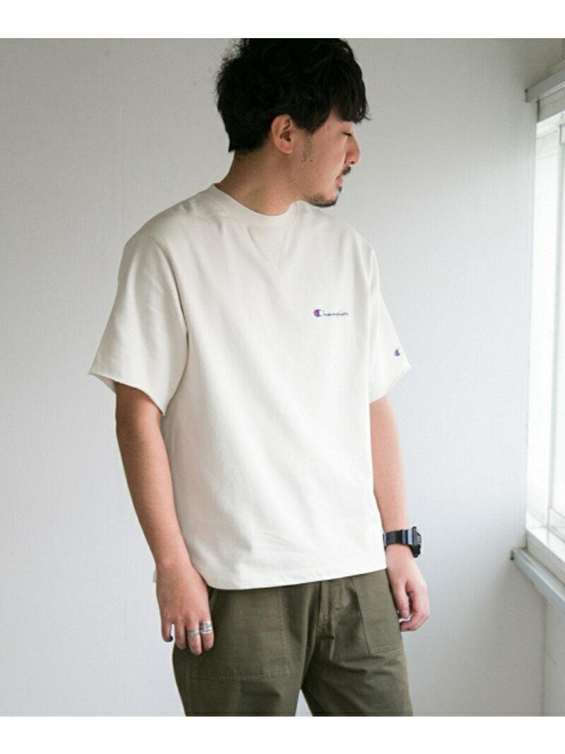 Sonny Label Champion 別注ラウンドテール刺繍スウェットシャツ サニーレーベル カットソー【送料無料】