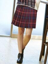 (W)トミータータンウールブレンドスカート