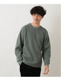 【SALE/60%OFF】GLOBAL WORK (M)ビッグヘビーワッフル グローバルワーク カットソー Tシャツ ホワイト カーキ ブラウン ブラック ベージュ