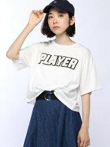 【JUNIOR SWEET】(L)ラメサガラワッペンTシャツ