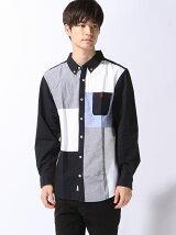 (M)ライオンブロッキングシャツ