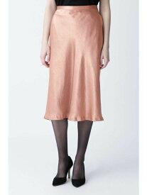 【SALE/45%OFF】PINKY&DIANNE グロッシーサテンバイヤススカート ピンキー アンド ダイアン スカート スカートその他 ピンク ブラック【送料無料】