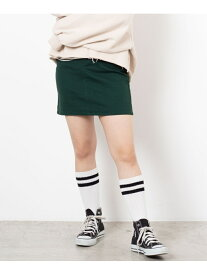 WEGO WEGO STANDARD/(L)デイリー起毛ツイルタイトミニスカート ウィゴー スカート