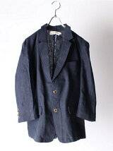 (M)NAVAL Select/リネン7分袖テーラードジャケット