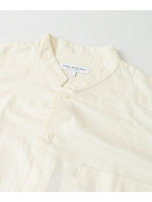LOOSE FIT STAND COLLAR SHIRTS