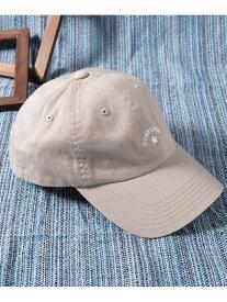 WEGO (M)別注CONVERSEアーチロゴLowCap ウィゴー 帽子/ヘア小物 キャップ ベージュ ネイビー ブラック ブラウン