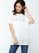 (W)ロゴロングTシャツ・カットソー(日本限定)