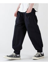 rehacer:Balloon Tuck Wide Tapered Pants